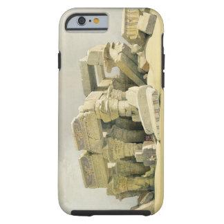 """Fördärvar av tempelet av Kom Ombo, från """"egypten Tough iPhone 6 Case"""