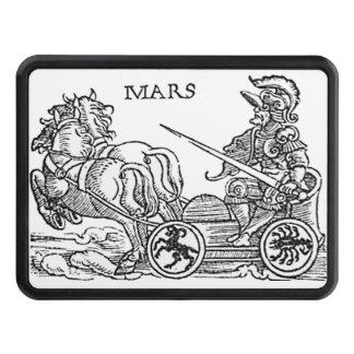 Fördärvar den Ares guden av den grekiska romerska Dragkroksskydd