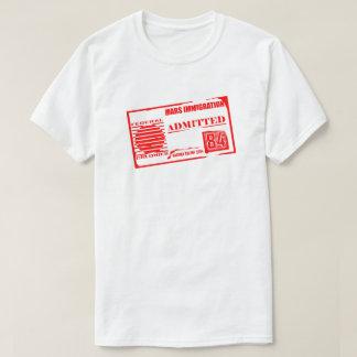 Fördärvar invandring: Vedertagen rolig SciFi T-shirts