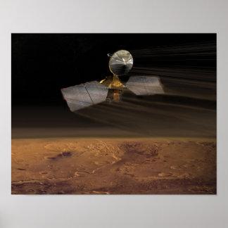 Fördärvar Reconnaissanceorbiteren Print
