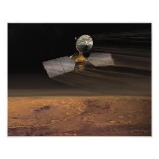Fördärvar Reconnaissanceorbiteren Fototryck