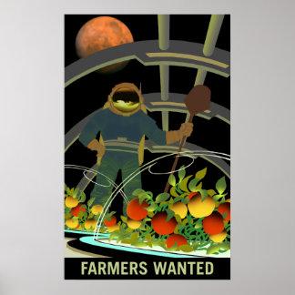 Fördärvar utforskare - den bönder önskade poster
