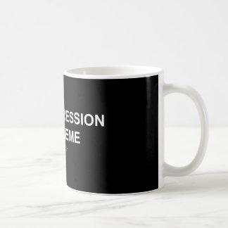 Fördjupning/Meme - svart-/vitmugg Kaffemugg