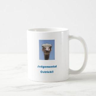 Fördöma Ostrich!!! Kaffemugg