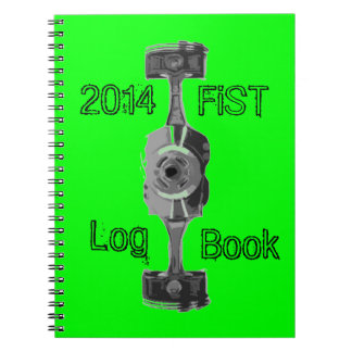 Fordonunderhållslogbook Anteckningsbok