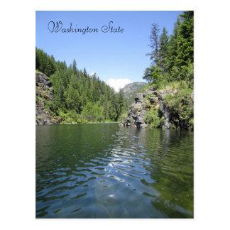Forell sjö vykort