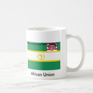 Förenade afrikanska fackliga Obama Kaffemugg