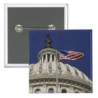 Förenta staterna huvudstad, Washington, DC Standard Kanpp Fyrkantig 5.1 Cm