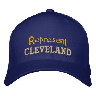 Föreställ det Cleveland locket Broderad Keps