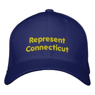 Föreställ det Connecticut locket Broderad Keps