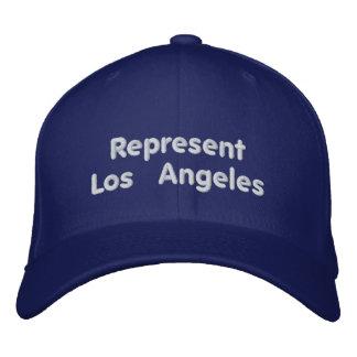 Föreställ det Los Angeles locket Broderad Keps