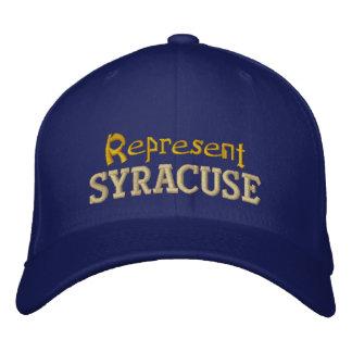 Föreställ det Syracuse locket Broderad Keps