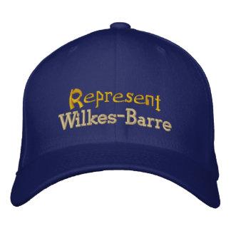Föreställ Wilkes-Barren locket Broderad Keps