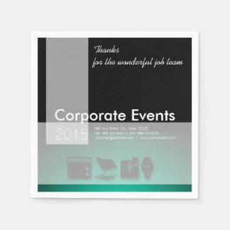 Företags händelser - beställnings- företags pappra pappersservetter