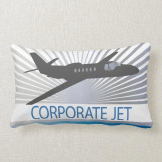 Företags jetflygplan lumbarkudde