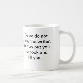 Författare mugg (han)