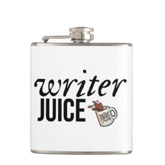 Författarefruktsaft -- Flaska Fickplunta