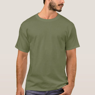 Förfölja benbiljard - begrava det eller bita det tee shirt