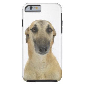 Förfölja på vit 41 tough iPhone 6 case