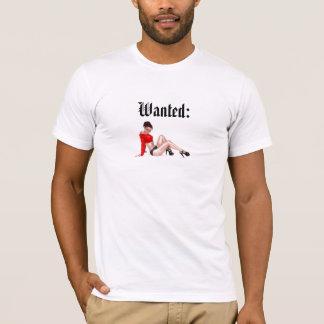 förförelse som önskas: tee shirts