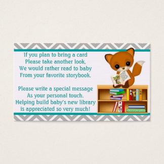 Förfrågan för babyrävbok i stället för ett kort
