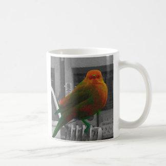 Förhistorisk fågel kaffemugg