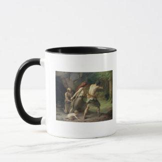 Förhistoriska manjaktbjörnar, 1832 mugg
