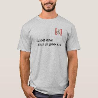 Förhöjning den minimum timpenningmanar skjorta - t-shirts
