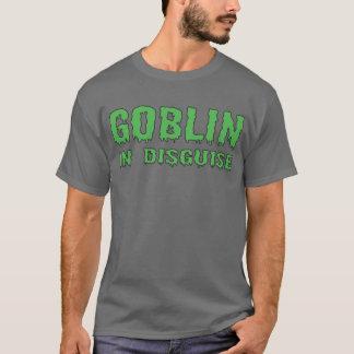 Förklädd elakt troll tee shirt