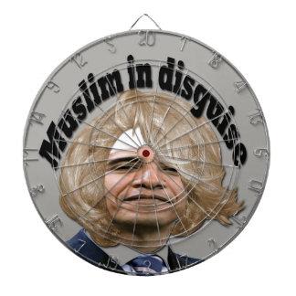 Förklädda Muslim Piltavla