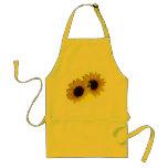 Förkläde för BBQ för solrosförklädeCheeful gult so