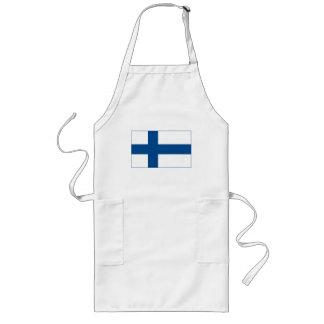 Förkläde för Finland flagga (tända)