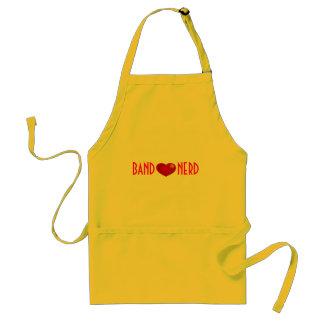 Förkläde för musikband*heart*Nerd