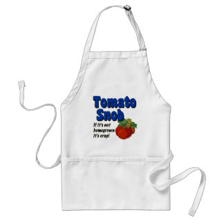 Förkläde för ordstäv för matlagning för tomatsnobb