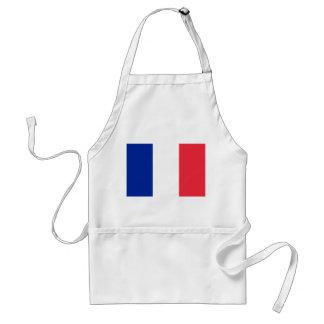 Förkläde med flagga av frankriken