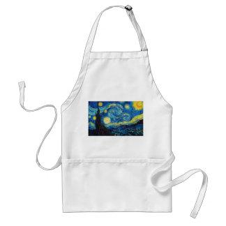 Förkläde Van Gogh för Starry natt