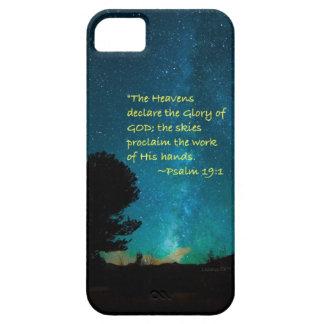 """""""Förklarar himmlar """", iPhone 5 Skydd"""