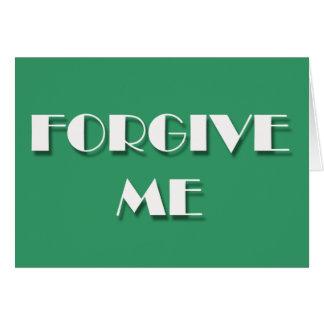 Förlåta-mig Hälsningskort