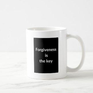 Förlåtelse är nyckeln kaffemugg