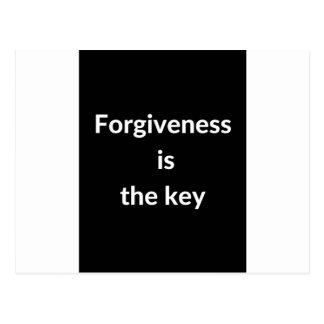 Förlåtelse är nyckeln vykort
