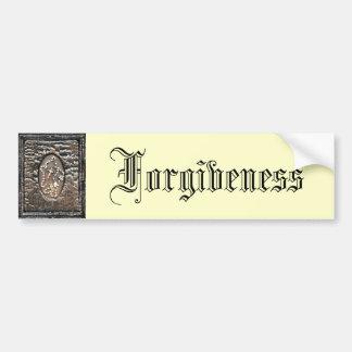 Förlåtelse Bildekal