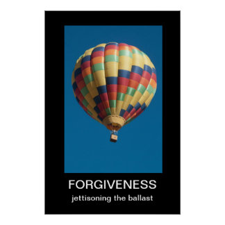 FörlåtelseDemotivational affisch Poster