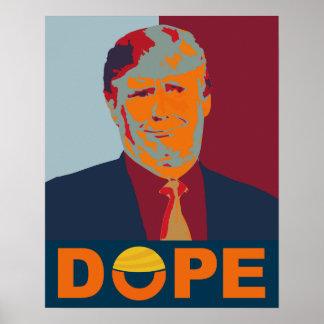 Förlorade den hoppAnti-Trumf affischen Poster