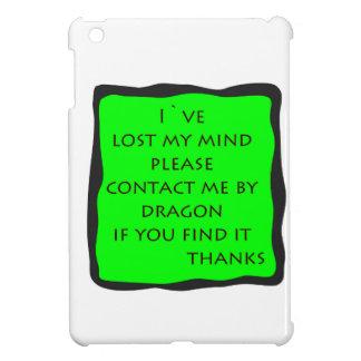 förlorade varar besvärad iPad mini skydd