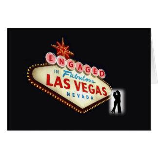 FÖRLOVAT i det sagolika Las Vegas kortet Hälsnings Kort
