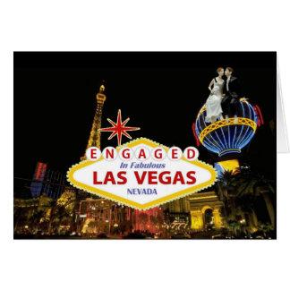 FÖRLOVAT i sagolika Las Vegas B & G-kort