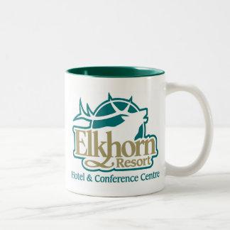 Format för Elkhorn Muggstamgäst Två-Tonad Mugg