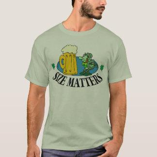 Formatmaterier - irländsk dricka T-tröja Tee Shirt