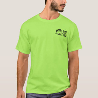 Formatmaterier! Rolig fiskedesign Tee Shirts