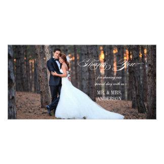 Formellt skriva kortet för det   det gifta sig fotokort